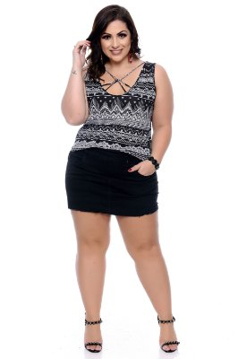 Blusa Plus Size Jhulice