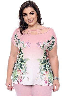 Blusa Plus Size Gobbi