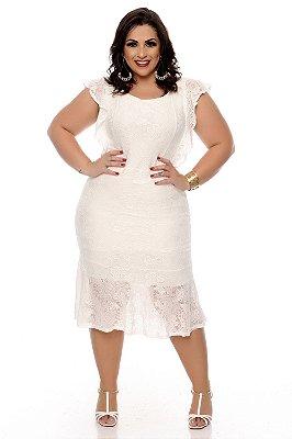 Vestido Plus Size Elkale