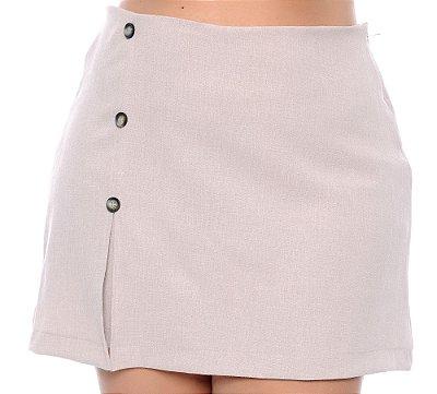 Shorts Saia Linho Plus Size Aylana
