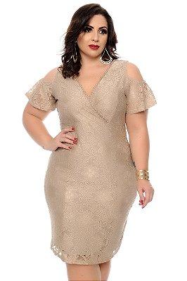 Vestido Plus Size Belte