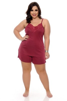 Short Doll Plus Size Midory