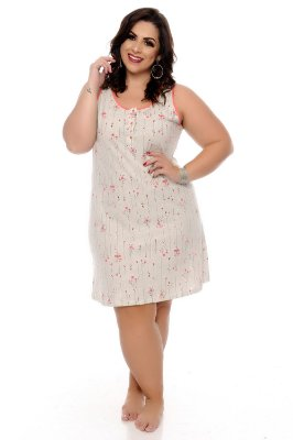 Camisola Plus Size Kecilly