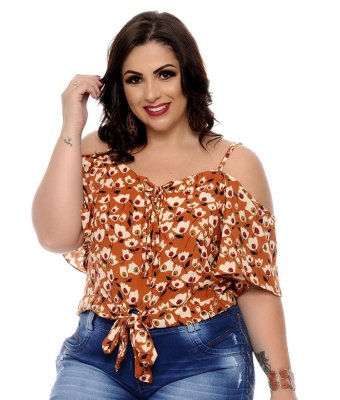 Blusa Plus Size Eleana