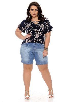 Bermuda Jeans Plus Size Janayze