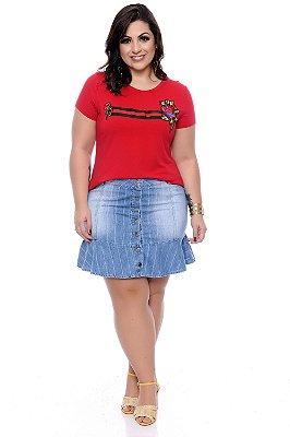 Blusa Plus Size Vanuzia