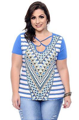 Blusa Plus Size Nalanda
