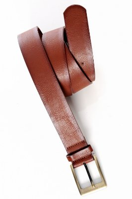 Cinto Plus Size Buckle Marron