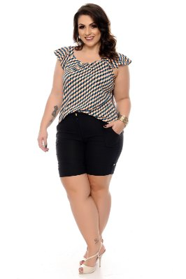 Blusa Plus Size Kiarely