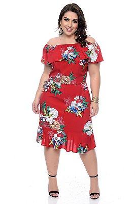 Vestido Plus Size Diully