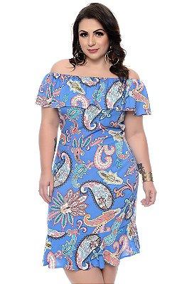 Vestido Plus Size Wames