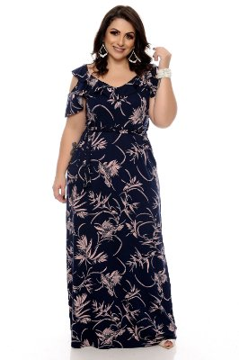 Vestido Longo Plus Size Alamy