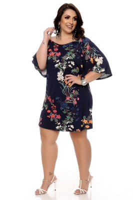 Vestido Plus Size Halicy