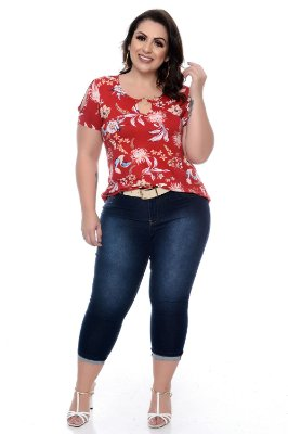 Blusa Plus Size Sandra