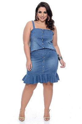 Conjunto Jeans Plus Size Sylvie