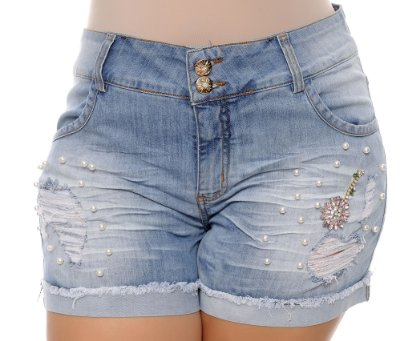 Shorts Jeans Plus Size Malka