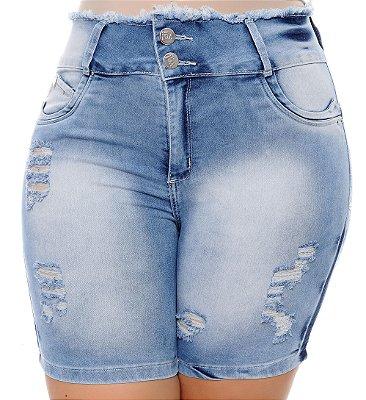 Bermuda Jeans Plus Size Rozy