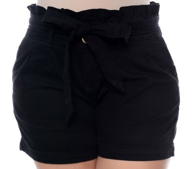 Shorts Clochard Jeans Plus Size Kollet