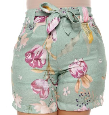 Shorts Plus Size Ahava