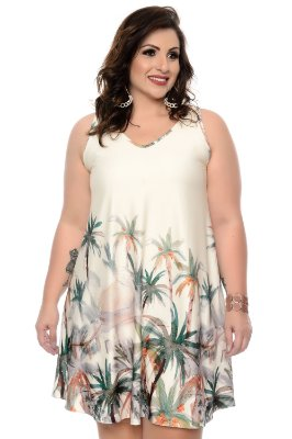 Vestido Plus Size Analia