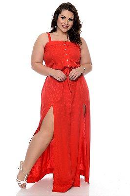 Vestido Longo Plus Size Cinthia