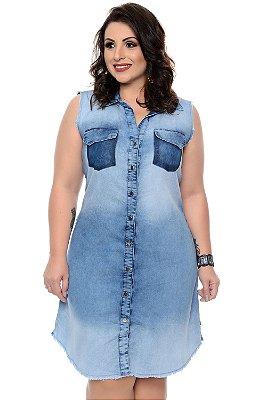 Chemisier Jeans Plus Size Nehana