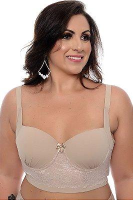 9eb9400bd Daluz Plus Size - Conjunto lingerie plus size
