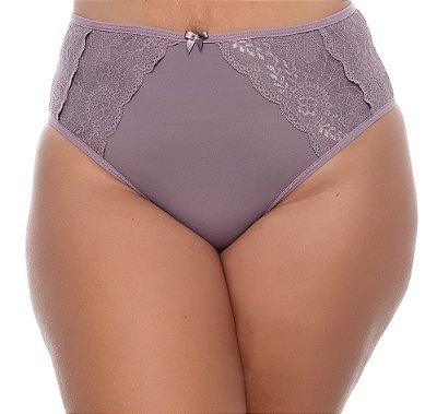 Calcinha Plus Size Violeta