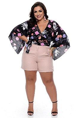 Blusa Plus Size Kicia