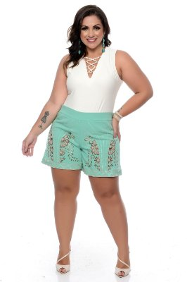 Shorts Jeans Plus Size Isabel