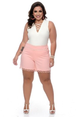 Shorts Plus Size Zellia