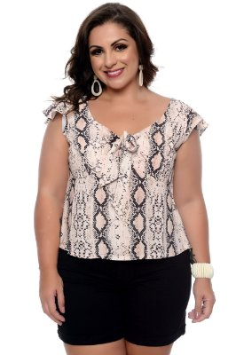 Blusa  Plus Size Analis
