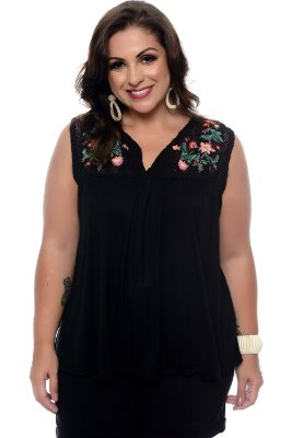 Blusa  Plus Size Celiana