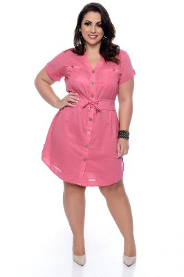 Vestido Plus Size Ledier