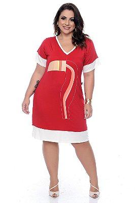 Vestido Plus Size Esly