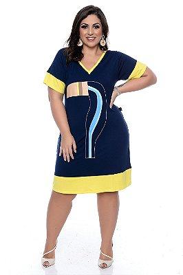 Vestido Plus Size Nallu