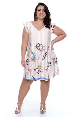 Vestido Plus Size Layle