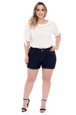 Shorts Jeans Plus Size Dichen
