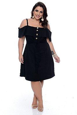 Vestido Linho Plus Size Amanda