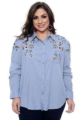 Camisa Plus Size Aimee