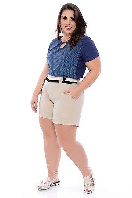 Shorts Linho Plus Size Harbes