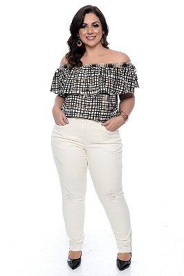 Blusa Plus Size Cileia