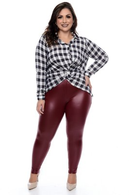 Calça Cirré Plus Size Hollie