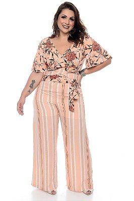 Calça Pantalona Plus Size Valentina