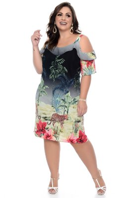 Vestido Plus Size Livia
