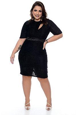 Vestido Plus Size Soethe