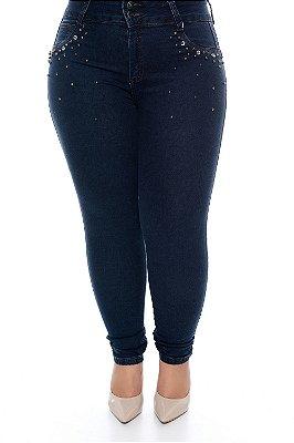 Calça Skinny Jeans Plus Size Eloina