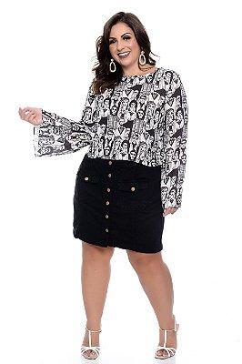 Blusa Plus Size Lissa