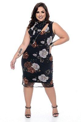 Vestido Plus Size Higa