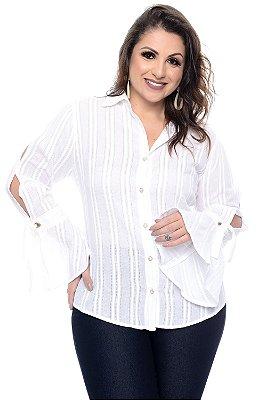Camisa Plus Size Wetzel